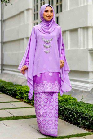 Kurung Permaisuri Lilac