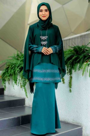 Kurung Ratu Emerald Green
