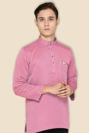 Kurta Abu Bakar Dusty Pink