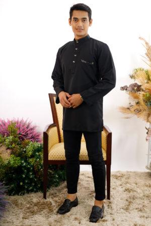 Kurta Abu Bakar Black