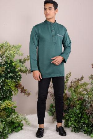 Kurta Abu Bakar Emerald Green