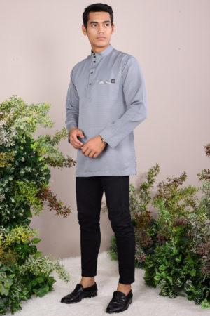 Kurta Abu Bakar Grey