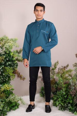 Kurta Abu Bakar Teal Blue