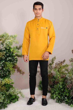 Kurta Abu Bakar Mustard