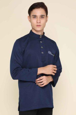 Kurta Abu Bakar Navy Blue