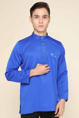 Kurta Abu Bakar Royal Blue