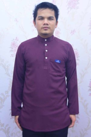 Kurta Habibi Purple