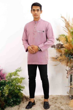 Kurta Abu Bakar Dusty Purple