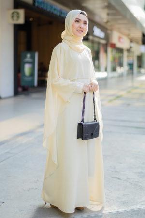 Jubah Ratu Arab Cream