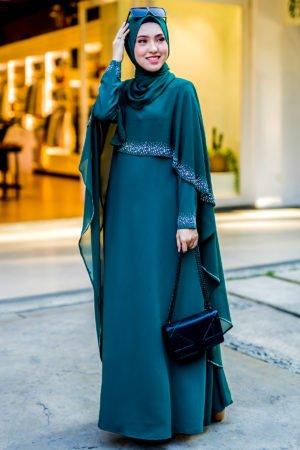 Jubah Ratu Arab Emerald Green