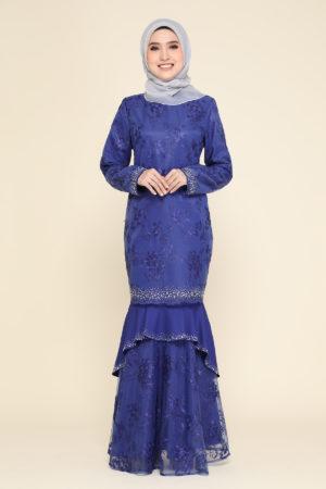 Kurung Careena Royal Blue