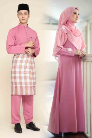 Set Couple Diyana Dusty Pink