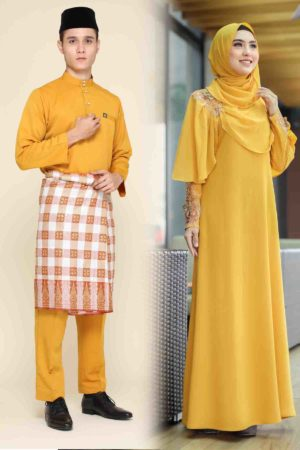 Set Couple Diyana Mustard