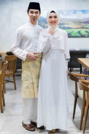 Set Couple Diyana White