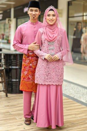 Set Couple Tyara Dusty Pink