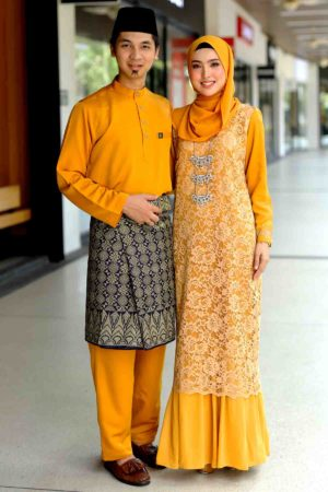 Set Couple Heliza Mustard