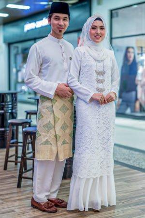 Set Couple Heliza Off White