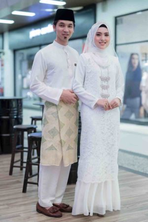 Set Couple Heliza White