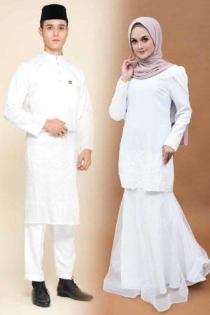 Set Couple Lashira White