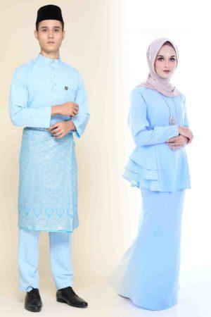 Set Couple Mona Baby Blue