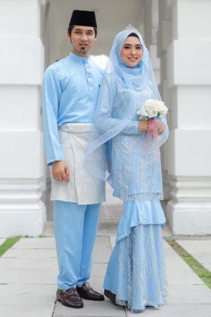 Set Couple Natasya Baby Blue