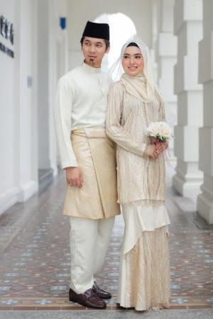 Set Couple Natasya Cream