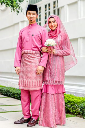 Set Couple Natasya Dusty Pink