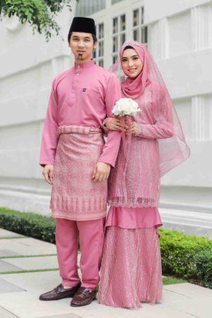 Set Couple Natasya Dusty Pink