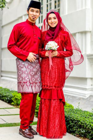 Set Couple Natasya Maroon