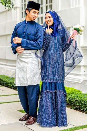 Set Couple Natasya Navy Blue