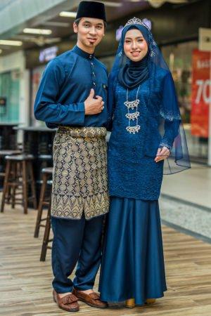 Set Couple Tyara Navy Blue
