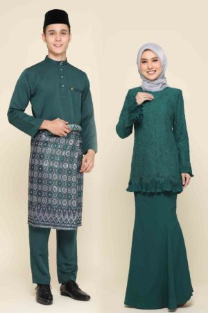 Set Couple Nayra Emerald Green