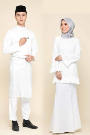 Set Couple Nayra White