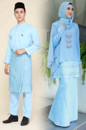 Set Couple Ratu Baby Blue (FULL SET)