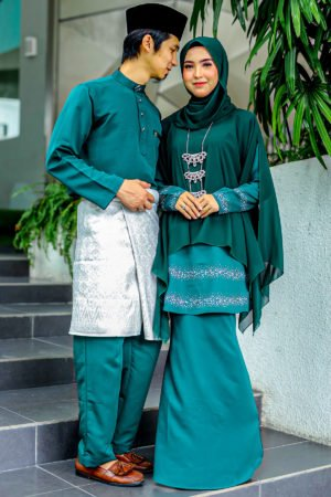 Set Couple Ratu Emerald Green