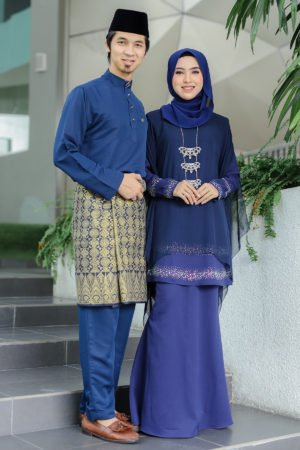 Set Couple Ratu Navy Blue (FULL SET)