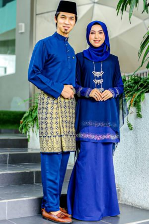 Set Couple Ratu Navy Blue