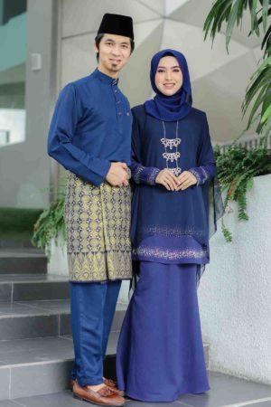 Set Couple Ratu Navy Blue