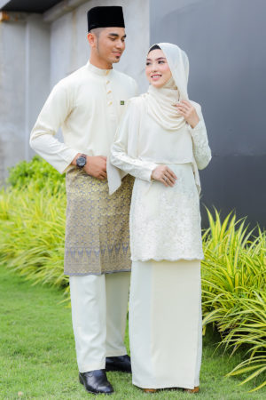 Set Couple Raudhah Cream