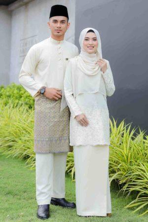 Set Couple Raudhah Cream