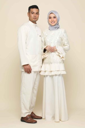 Set Couple Raysha Cream