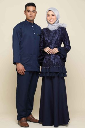Set Couple Raysha Navy Blue