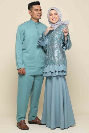 Set Couple Raysha Pine Green