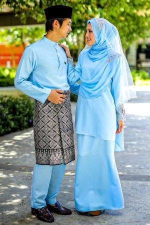 Set Couple Seri Baby Blue