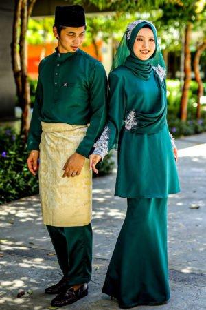 Set Couple Seri Emerald Green