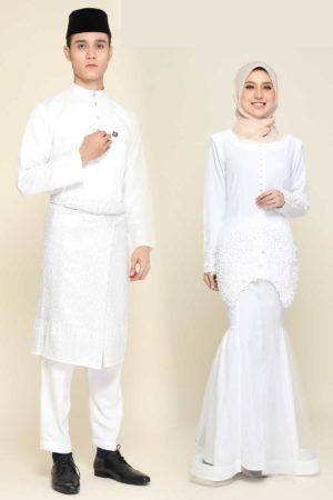 Set Couple Heleena Off White