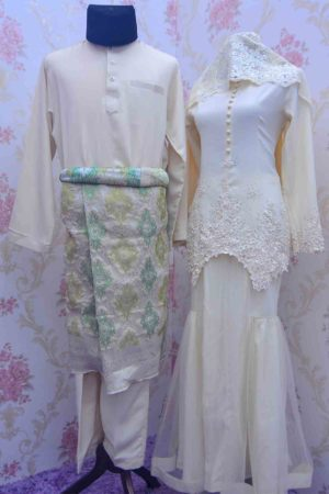 Set Couple Heleena Cream