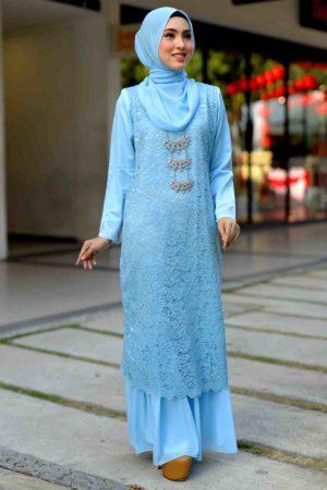 Dress Heliza Baby Blue