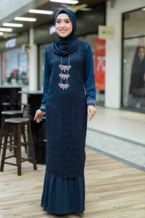 Dress Heliza Navy Blue