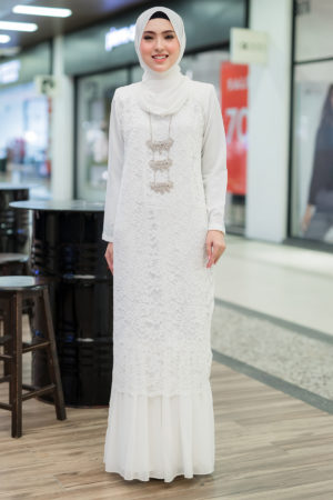 Dress Heliza Off White